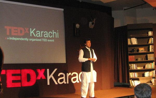 Imran khan – TEDx