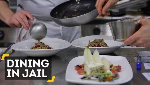 This Fancy Italian Restaurant Is Inside A Prison