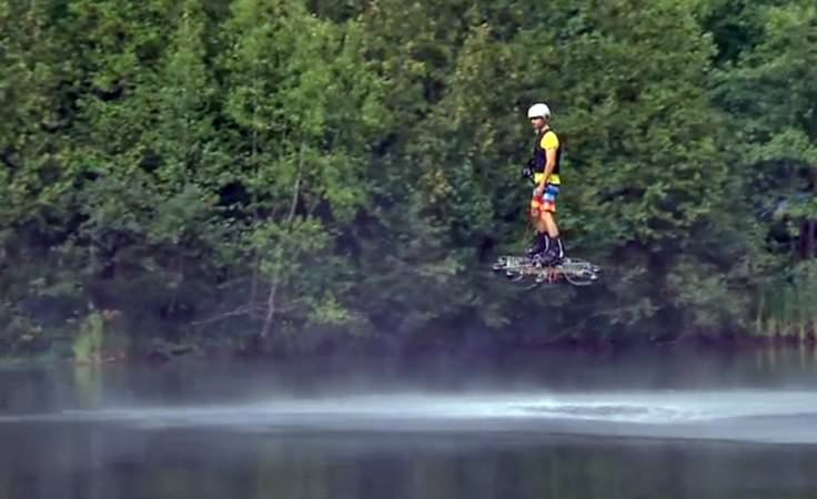 A Hover Board That Actually Flies