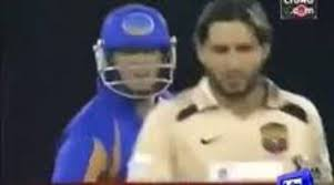 Afridi And Shane Warne Biggest Fight and Sledges T 20 History