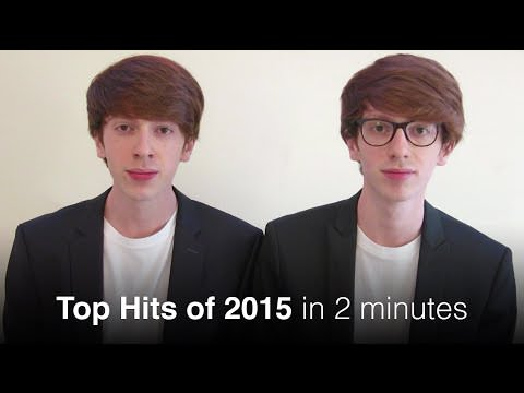 Top Hits of 2015 in 2 minutes