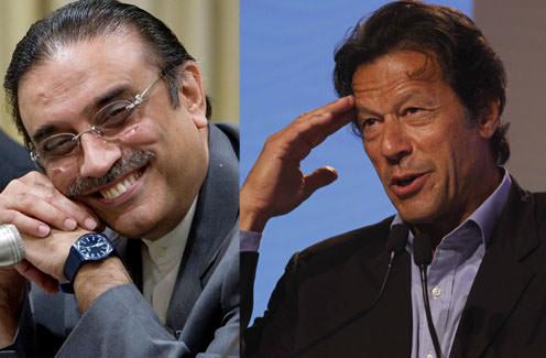 Zardari's Performance Was Better: Imran Khan