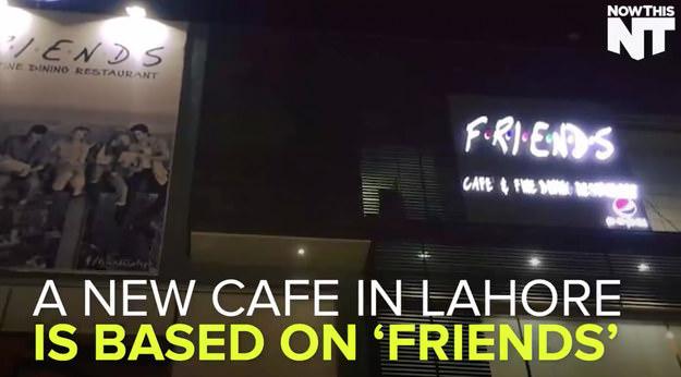 'Friends'  themed cafe in Pakistan