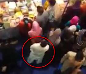 Man Harasses a Girl