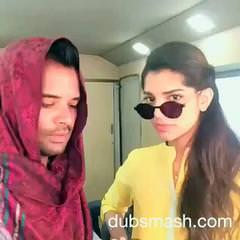 Hilarious Dubsmash By Humaima Malik & Sanam Saeed