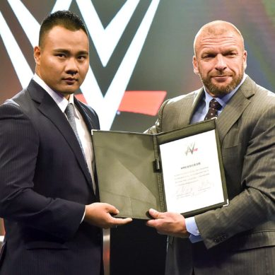 WWE Sign First Ever Chinese Wrestler