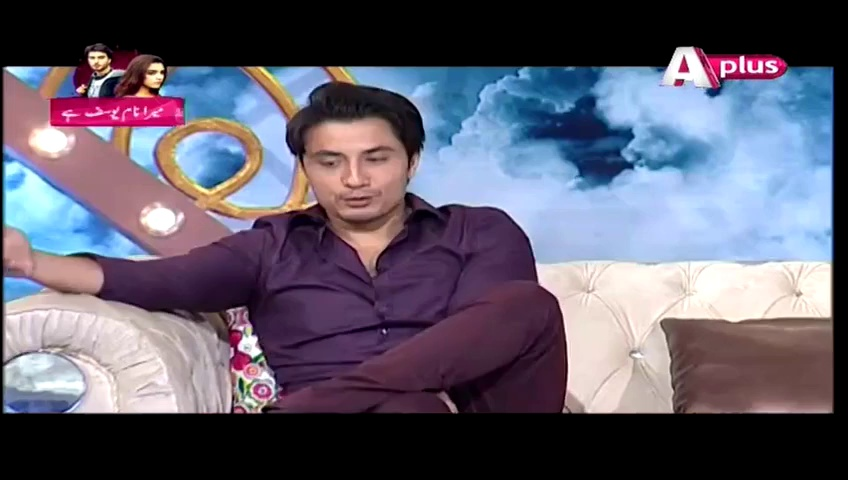 Ali Zafar's Reaction When Offered Kissing Scene
