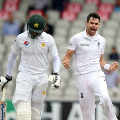 Mohammad Hafeez Goes Out For Duck