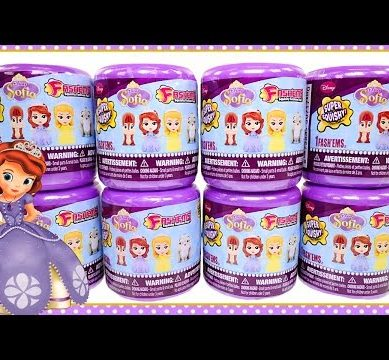 8 Sofia The First Fashems Disney Princess NEW Blind Capsule Surprise Eggs Squishy Toys by DCTC