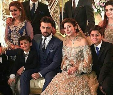Urwa And Farhan's Grand Reception