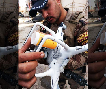 ISIS Mosul Attack Iraq With Drone Technology