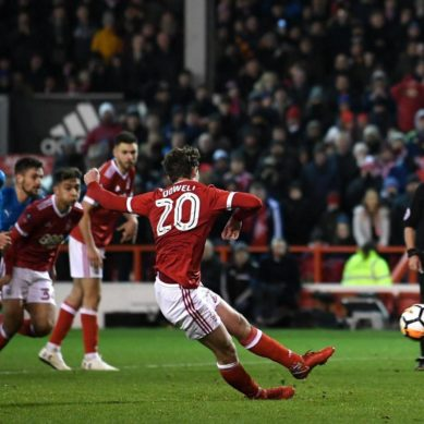 Arsenal knocked out of FA Cup by Nottingham Forest