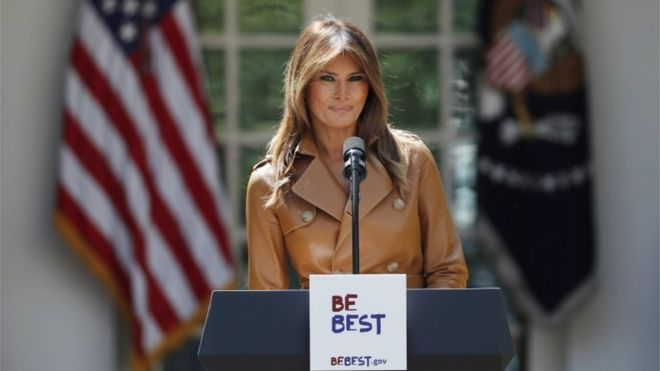 """""""Be Best"""": the new campaign of the first lady of the USA, Melania Trump, and why some question it?"""