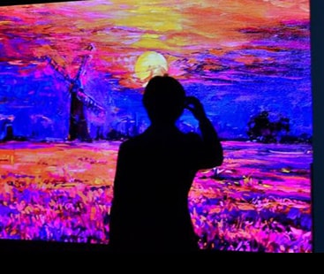 The new televisions in 8K resolution