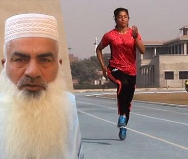 "Sahib-e-Asra; Pakistan's fastest female athlete and an ""imam's"" pride"