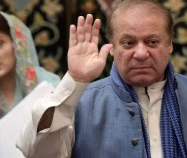 Nawaz Sharif returns to Jati Umra after being released from jail