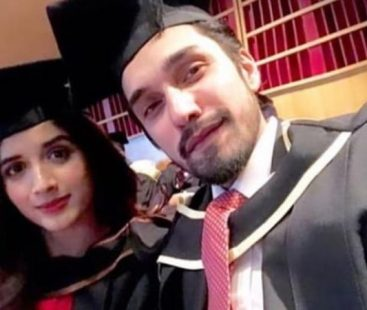 Mawra Hocane and Uzair Jaswal have officially graduated from The University of London!