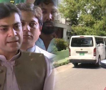NAB team conducts raid at Shehbaz Sharif's residence to arrest Hamza Shehbaz