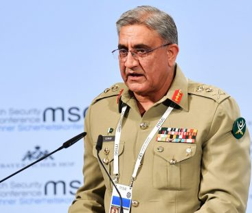 Pakistan moving towards peace and stability: Army Chief Bajwa
