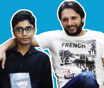 Shahid Afridi Met A Fan who is a Cancer Patient
