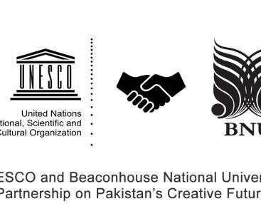 UNESCO and Beaconhouse National University Partnership on Pakistan's Creative Future