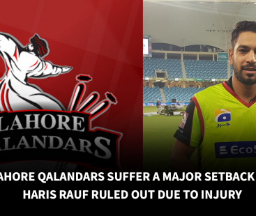 Lahore Qalandars suffer a major setback as Haris Rauf ruled out due to injury