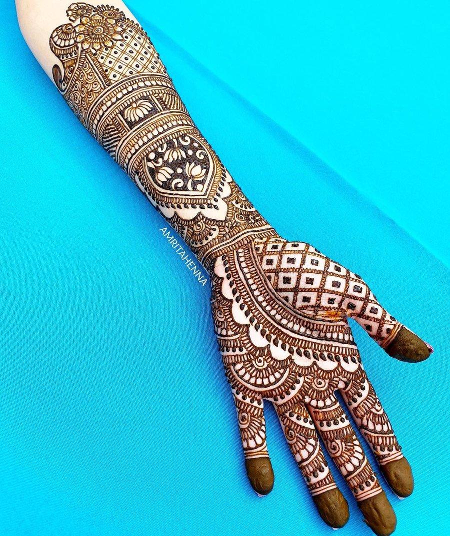 Designs for Bridal Mehndi