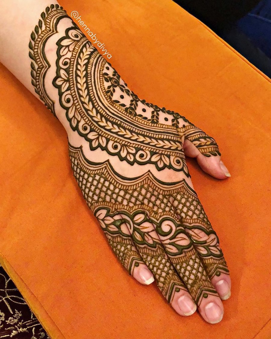 Indian Mehndi Designs for Weddings
