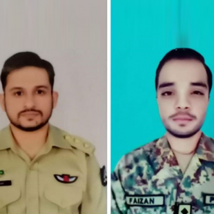 Pakistan Army jet crashes during routine mission near Gujrat; both pilots embraced Shahadat