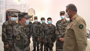 COAS Gen Bajwa thanks China for its support in fight against coronavirus