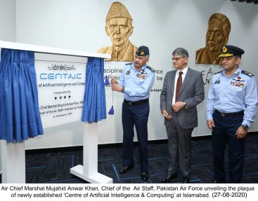 Air Chief  inaugurate  'Centre of Artificial Intelligence & Computing' at Islamabad