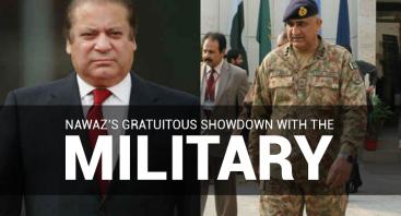 Nawaz's gratuitous showdown with the military