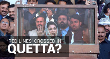 'Red lines' crossed in Quetta?