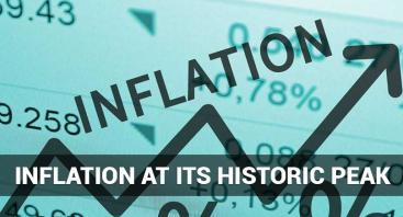 Inflation at its historic peak