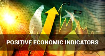 Positive economic indicators