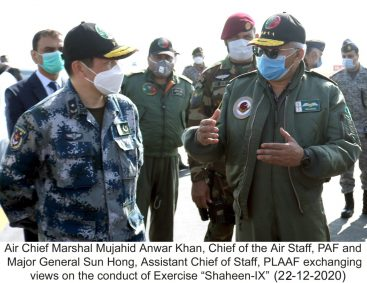 PAF: Pakistan and Chinese joint Air Exercise Shaheen IX