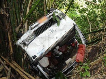 DG Khan: Seven die, several injured as the passenger van crashes into the gorge