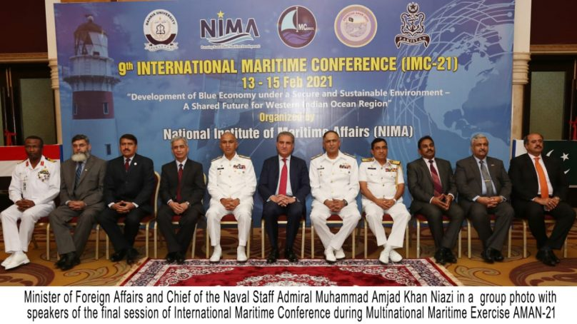 International Maritime Conference: Blue Economy is the Pressing Need of the Hour