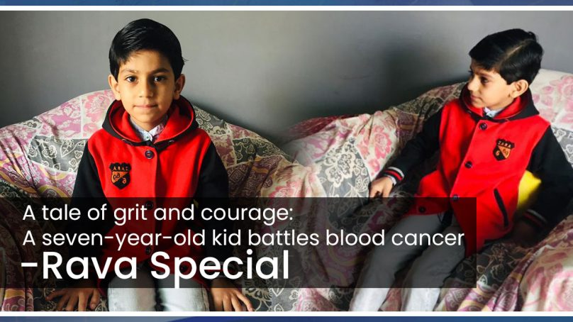 A tale of grit and courage: Seven-year-old battles life-threatening disease
