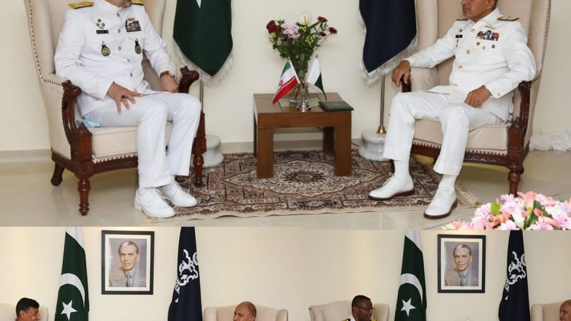 Naval Chief calls on Foreign Military Delegates attending Aman 2021