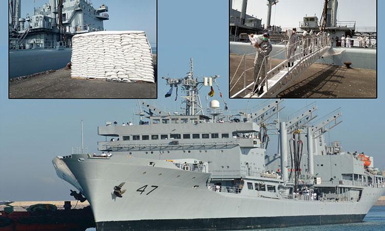 Overseas Deployment to African region,NASR visited Djibouti & Sudan ports