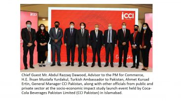 Coca-Cola Beverages Pakistan releases socio-economic impact report