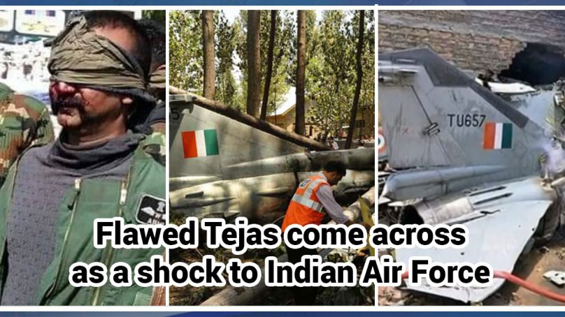 Flawed Tejas come across as a shock to Indian Air Force