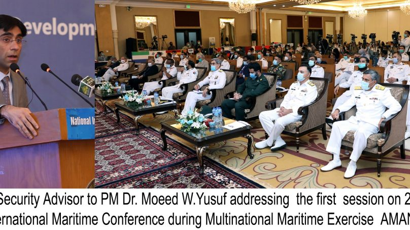 9th International Maritime Conference (IMC) 2021 in progress at Karachi