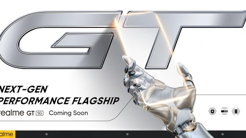"""realme's new performance flagship """"Race"""" is officially named realme GT"""