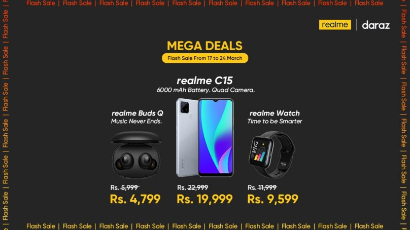 Realme offering exclusive discounts on smartphones & AIoT for Daraz Pakistan Day Sale Live now