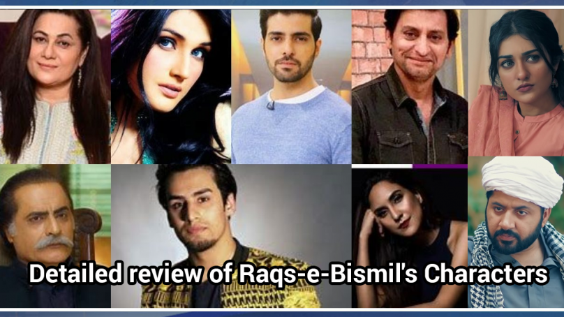 Raqs-e-Bismil Drama Cast Review