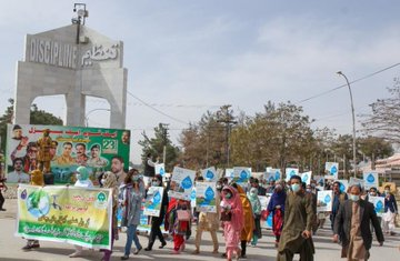 PPAF, BRSP celebrate World Water Day in Quetta
