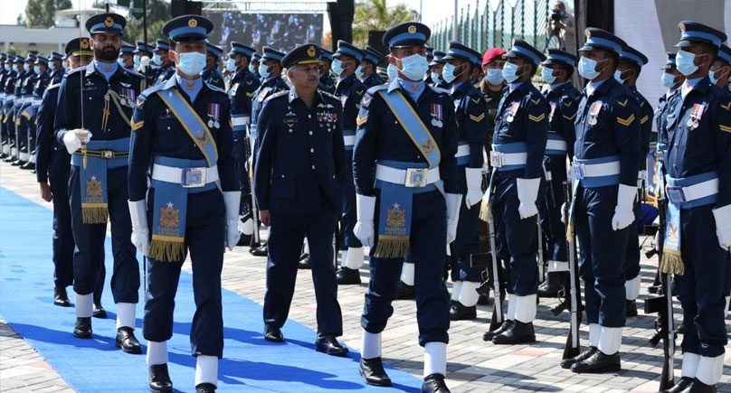Air chief says the country fully prepared to deter the enemy's aggression