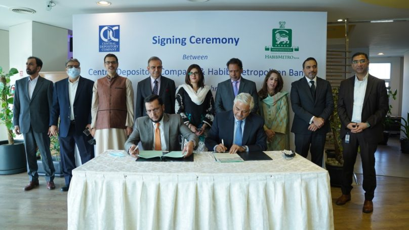 HABIBMETRO and CDC signs agreement for NRP investment in PSX